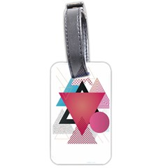Geometric Line Patterns Luggage Tags (two Sides) by Mariart