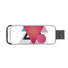 Geometric Line Patterns Portable Usb Flash (one Side) by Mariart