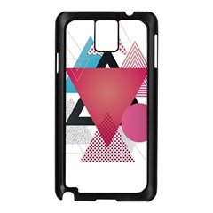 Geometric Line Patterns Samsung Galaxy Note 3 N9005 Case (black) by Mariart