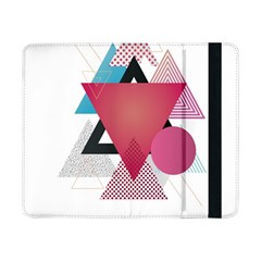 Geometric Line Patterns Samsung Galaxy Tab Pro 8 4  Flip Case by Mariart