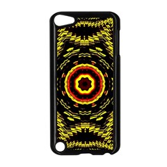 Mosaic Yellow Star Apple Ipod Touch 5 Case (black) by Jojostore
