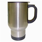 Radial Blur Estiq Spiral Travel Mug (Silver Gray) Right