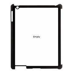 Glass Abstract Apple Ipad 3/4 Case (black)