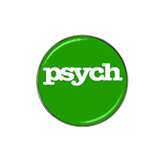 Psych Hat Clip Ball Marker (10 Pack)