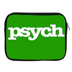 Psych Apple Ipad 2/3/4 Zipper Cases