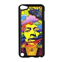 Jimi Hendrix Apple Ipod Touch 5 Case (black)