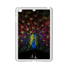 Beautiful Peacock Feather Ipad Mini 2 Enamel Coated Cases by Bejoart