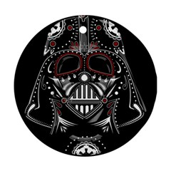 Darth Vader Round Ornament (two Sides)