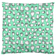 Hand Cute Large Cushion Case (one Side)
