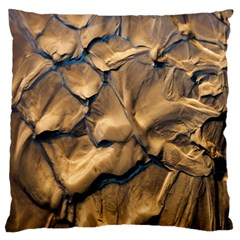 Mud Muddy Large Flano Cushion Case (one Side) by Mariart