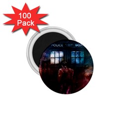 Doctor Who Tardis In Space 1 75  Magnets (100 Pack)