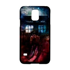 Doctor Who Tardis In Space Samsung Galaxy S5 Hardshell Case