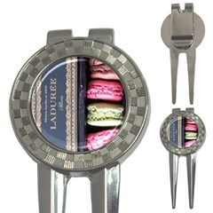 Laduree Macaron Paris 3 In 1 Golf Divots