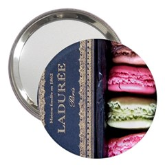 Laduree Macaron Paris 3  Handbag Mirrors by Bejoart