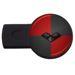 Harley Quinn Black Diamond Usb Flash Drive Round (2 Gb)