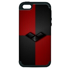 Harley Quinn Black Diamond Apple Iphone 5 Hardshell Case (pc+silicone)