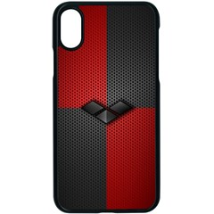 Harley Quinn Black Diamond Apple Iphone X Seamless Case (black)
