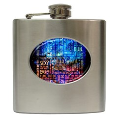 Doctor Who Quotes,trust Me Im Doctor Hip Flask (6 Oz)