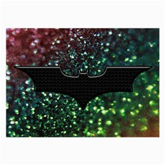 Bat Rainbow Glitter Large Glasses Cloth (2 Side) by Bejoart