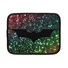 Bat Rainbow Glitter Netbook Case (small)