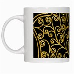 Hamsa Hand White Mugs Left