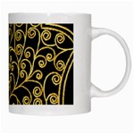 Hamsa Hand White Mugs Right
