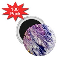 Marble Pattern Texture 1 75  Magnets (100 Pack)
