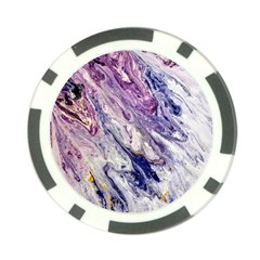 Marble Pattern Texture Poker Chip Card Guard