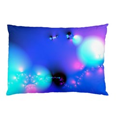 Love In Action, Pink, Purple, Blue Heartbeat Pillow Case (two Sides)