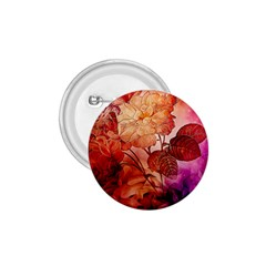 Flower Power, Colorful Floral Design 1 75  Buttons by FantasyWorld7