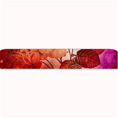 Flower Power, Colorful Floral Design Small Bar Mats by FantasyWorld7