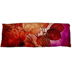 Flower Power, Colorful Floral Design Body Pillow Case Dakimakura (two Sides) by FantasyWorld7