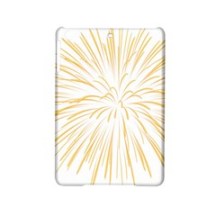 Yellow Firework Transparent Ipad Mini 2 Hardshell Cases