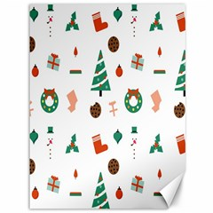 Christmas Tree Pattern Material Canvas 36  X 48