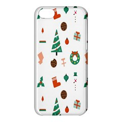 Christmas Tree Pattern Material Apple Iphone 5c Hardshell Case