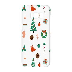 Christmas Tree Pattern Material Samsung Galaxy S8 Hardshell Case
