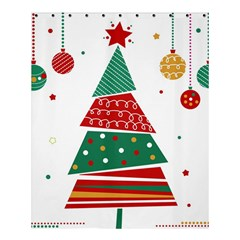 Christmas Tree Decorated Shower Curtain 60  X 72  (medium)  by AnjaniArt