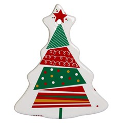 Christmas Tree Decorated Ornament (christmas Tree)