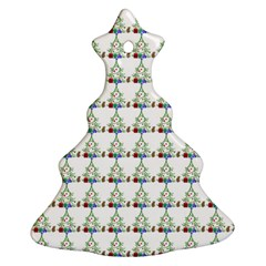 Christmas Tree Pattern Ornament (christmas Tree)  by AnjaniArt