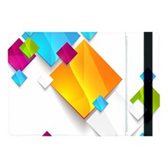 Colorful Abstract Geometric Squares Apple Ipad Pro 10 5   Flip Case