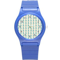 Christmas Tree Round Plastic Sport Watch (s)