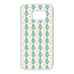 Christmas Tree Samsung Galaxy S7 White Seamless Case by Alisyart