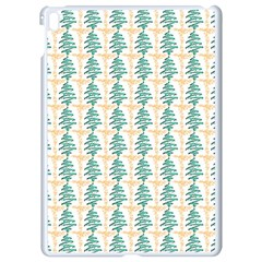 Christmas Tree Apple Ipad Pro 9 7   White Seamless Case