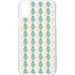 Christmas Tree Apple Iphone X Seamless Case (white) by Alisyart