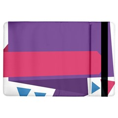 Triangle Fragment Ribbon Title Box Ipad Air Flip