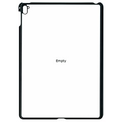 Black And White Abstract Pattern Apple Ipad Pro 9 7   Black Seamless Case
