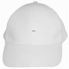 Abstract Pattern White Cap