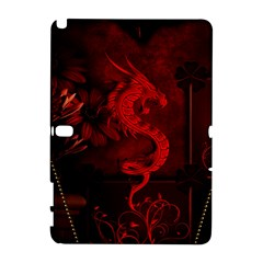 Wonderful Red Chinese Dragon Samsung Galaxy Note 10 1 (p600) Hardshell Case