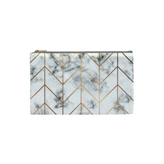 Vector Marble Texture Seamless Pattern  Cosmetic Bag (small)
