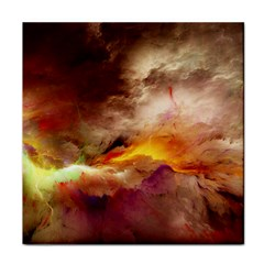 Abstract 3d Graphics Psychedelic Nebula Space Tile Coasters